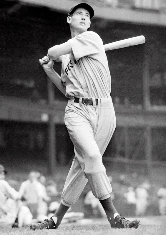 Ted Williams is the last player to end a season with a batting average over .400. The Red Sox icon finished with an average of .406 in 1941, and also led the league in home runs (37), base on balls (147), runs (135), slugging average (.735), and on base percentage (.551).