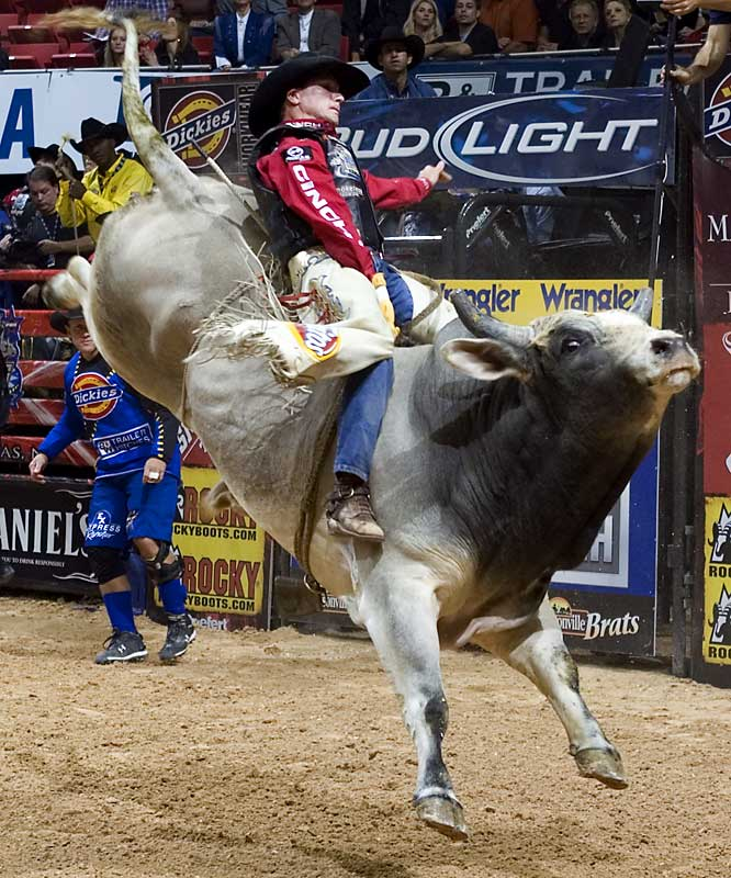 Justin McBride is a two-time Professional Bull Riders World Champion (2005 and 2007) and the organization's all-time leading money and events winner.