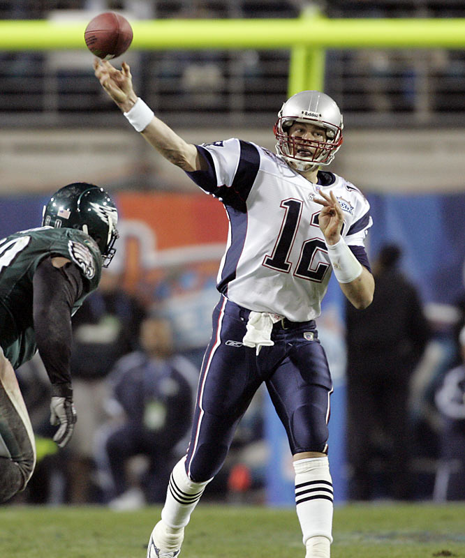 By defeating the Eagles 24-21 in Super Bowl XXXIX, the Patriots became the first team since the Broncos (1998-99) to win consecutive Super Bowls.