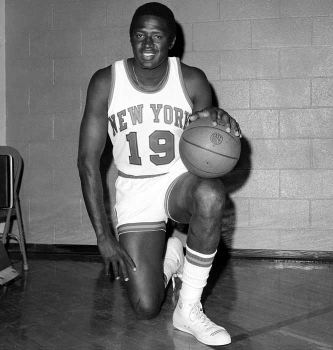 Willis Reed (1942, pictured)  Dan Turk (1962)  Mike Stanley (1963)  Doug Gilmour (1963)  Dell Curry (1964)  Dikembe Mutombo (1966)  Aaron Sele (1970)  Robert Reichel (1971)  Michael Tucker (1971)  Carlos Delgado (1972)  Rene Corbet (1973)  Vernon Crawford (1974)  Alberto Costa (1975)  Luke Scott (1978)