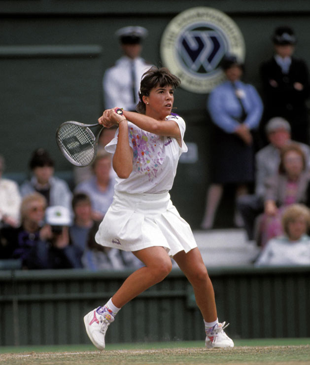 Jennifer Capriati, at age 14, became the youngest winner of a match in Wimbledon history.