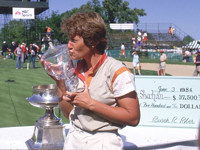 Patty Sheehan wins the 30th annual LPGA Championship.