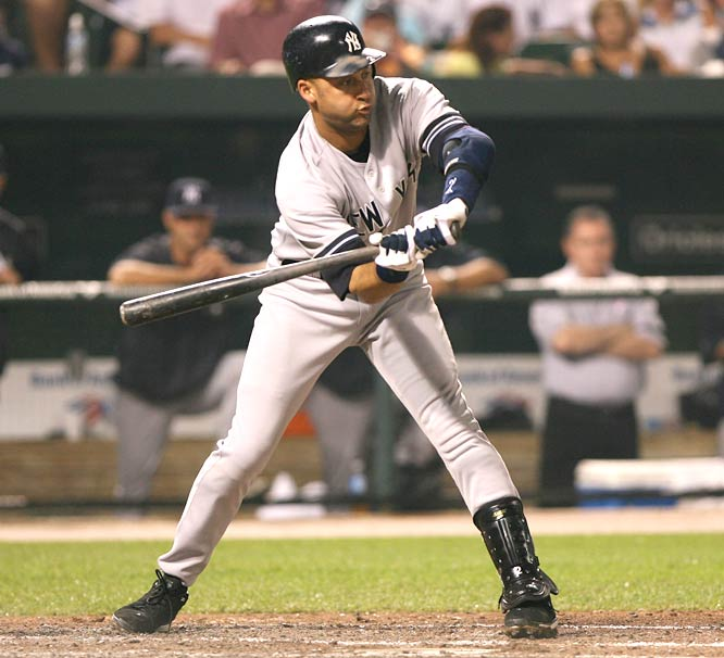 Yankee 28-year-old shortstop Derek Jeter is named the 11th captain in club history, joining Hal Chase, Roger Peckinpaugh, Babe Ruth, Everett Scott, Lou Gehrig, Thurman Munson, Graig Nettles, Willie Randolph, Ron Guidry and Don Mattingly.