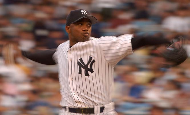 Orlando Hernandez makes his major league debut defeating the Devil Rays, 7-1. 'El Duque', who escaped from Cuba by boat six months ago, allows a run on five hits in seven innings.