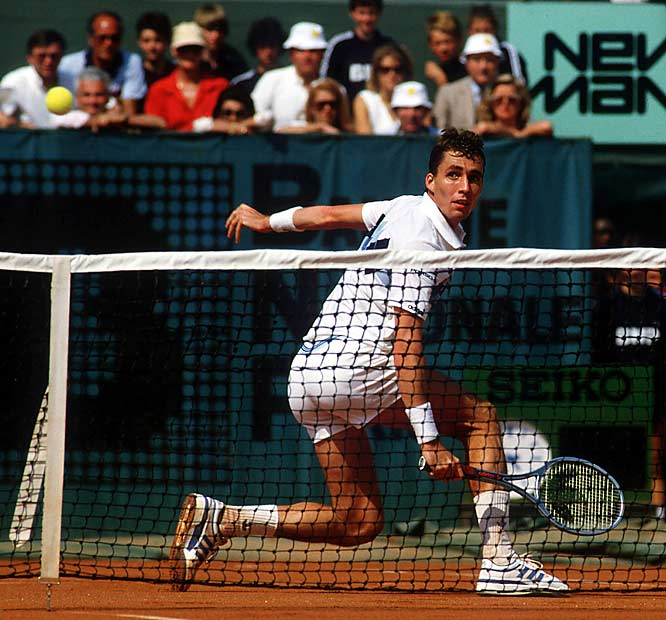Lendl won his first Grand Slam title and ended McEnroe's 39-match winning streak when he came back from a two-set deficit in the final. Though McEnroe would beat Lendl in straight sets at the U.S. Open final later that year, the American would never again advance that far in the French. Lendl, meanwhile, would win at Roland Garros twice more during his 16-year career.