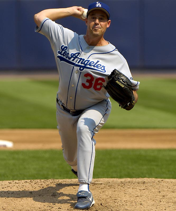 Maddux went 6-3 with a 3.30 ERA after being traded to Los Angeles for Cesar Izturis and helped land the NL Wild Card spot, pitching the Dodgers to a 4-2 win in the season's second-to-last game to clinch a playoff berth.