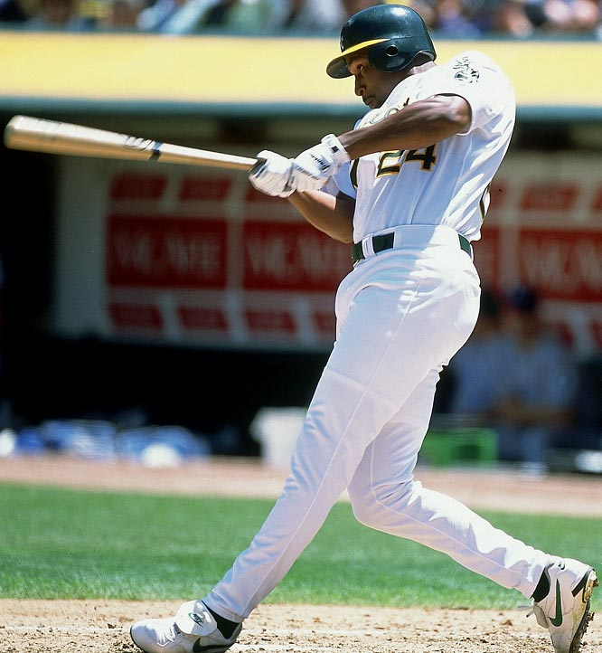 The A's gave up three nobodies for Dye, who stepped into the cleanup spot behind AL MVP Jason Giambi. Dye batted .297 with 13 home runs and 59 RBis in 61 games for Oakland, which ran away with the wild card with 102 wins.