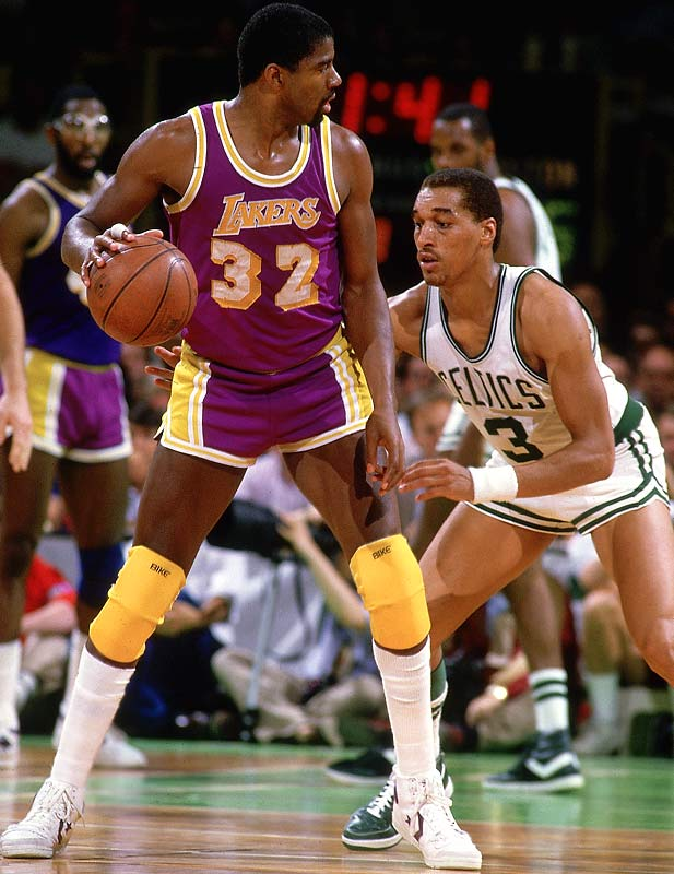 Maybe one of the most underrated defenders, the 6-6 guard was a key player for several teams that went deep in the postseason. As a member of the Sonics in the `79 Finals, he blocked 14 shots in five games from the guard position and took home Finals MVP. DJ later joined the Celtics, helping Larry Bird, Kevin McHale and Robert Parish to a pair of titles in '84 and '86.