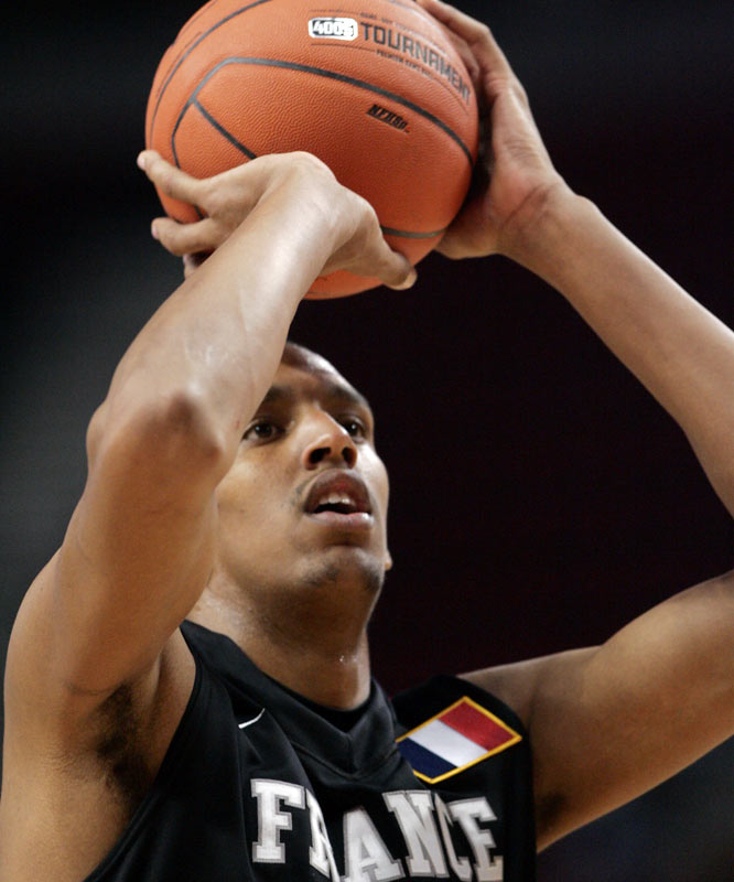 The 20-year-old 7-footer showed big improvement this year. He's long and nimble with perimeter shooting skills, but he needs to keep building his strength.