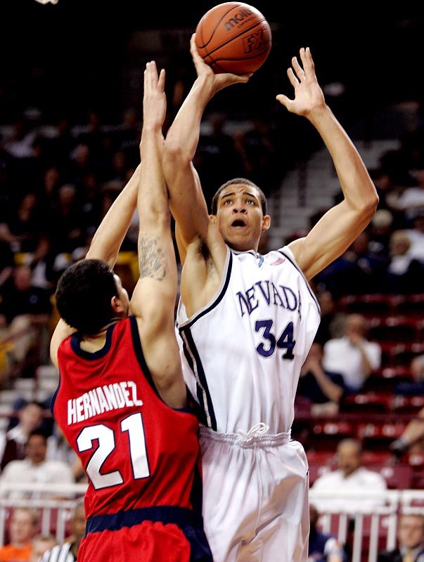 The skilled big man averaged 14.1 points and 7.3 rebounds and led the WAC with 2.8 blocks. His mother, Pam, a former U.S. Olympian and WNBA player with the Sacramento Monarchs, has nicknamed her son the Big Secret.