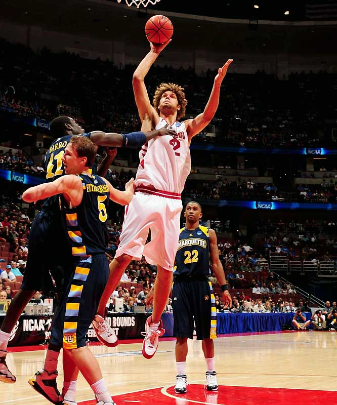 """An NBA executive said of Brook's twin brother, """"He has a physical presence, he has mobility and he has underrated offensive potential. He's going to get drafted a lot higher than anyone realizes."""""""