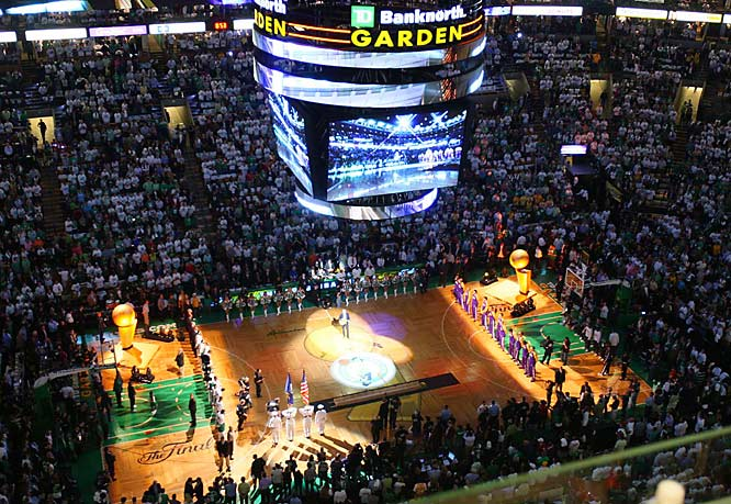 The Lakers and Celtics get set to face off in the NBA Finals for the first time since 1987.