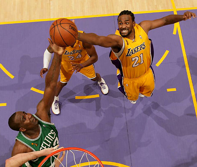 The Lakers are 9-0 in the playoffs at the Staples Center and haven't lost at home since March 28 (a span of 15 games).