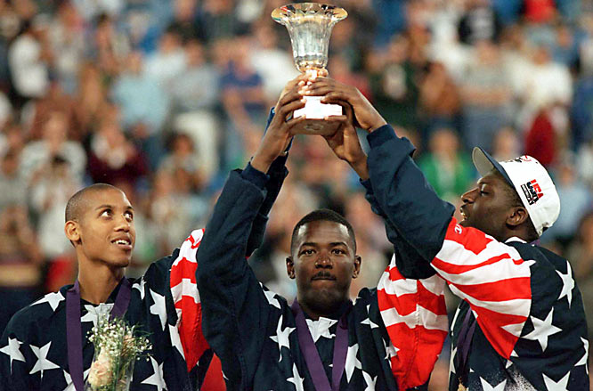 "USA Basketball elected to send an entirely overhauled roster featuring mostly younger stars to the World Championship in Toronto. Different players, same result. ""Dream Team II"" rolled through the group stage and knockout rounds before exacting a 137-91 whipping of the Russians in the final. Nascent NBA superstar Shaquille O'Neal collected MVP honors."