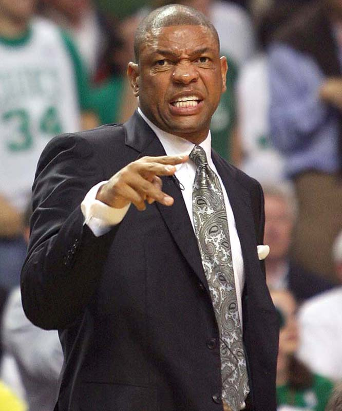 Doc Rivers is the sixth Boston coach in history to lead the Celtics to the NBA Finals (along with Red Auerbach, Bill Russell, Tom Heinsohn, Bill Fitch and K.C. Jones).
