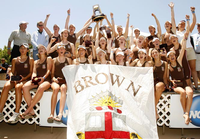 The only crew to place in the top three in every NCAA Championship, Brown defended its 2007 title by rowing to victory again, this time at Lake Natoma, in California. Brown has now won six NCAA rowing team titles.