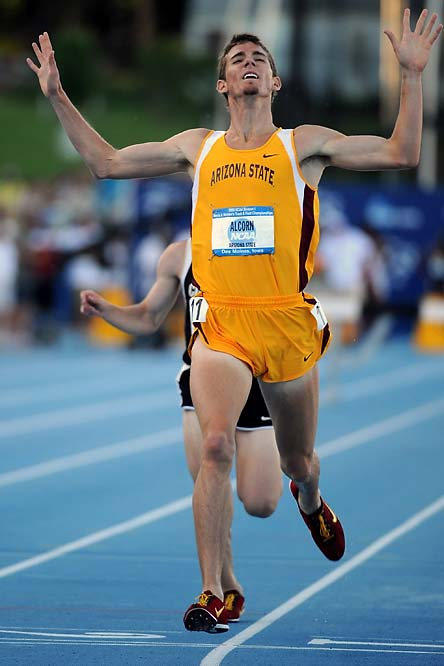 Led by distance runner Kyle Alcorn, who won the 3,000 meters and scored 44 total points, Arizona State edged Florida State for the team's second title in the sport.