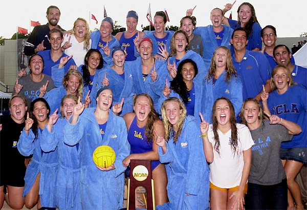 UCLA beat rival USC 6-3 for its fourth consecutive NCAA championship and its 101st overall national title. The Bruins, who finished the season undefeated (33-0), were led by seniors Jillian Kraus, Kamaile Crowell, Gabrielle Domanic, Courtney Mathewson and Brittany Rowe, who finished their careers with a 123-6 overall record and became the first UCLA women to win four national championships.