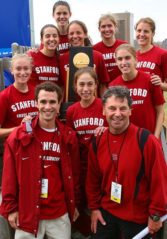 Running the entire season as the top-ranked team in the nation, Stanford claimed its third straight NCAA title and fourth in five years. Led by senior Arianna Lamble, who placed ninth out of 253 runners in the field, the Cardinal beat out second-place Oregon by 32 points.