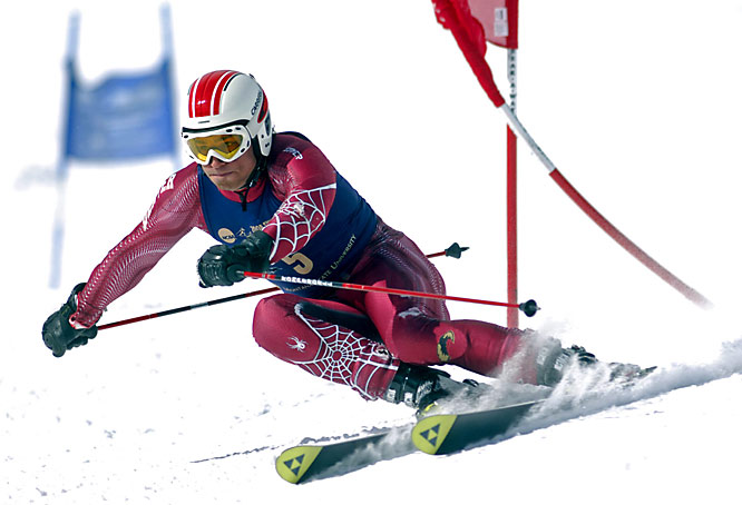 Junior John Buchar won the men's slalom for his second individual national title, helping the Pioneers claim their 19th team championship. Buchar's sweep of the slalom and giant slalom marked the second time that a Denver University skier won both events at the NCAA Championships. On the women's side, junior Jenny Lathrop's third-place finish in the giant slalom contributed to the team's winning score.