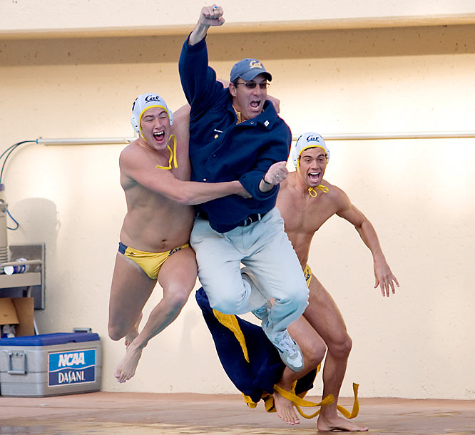 No school outside of California has ever won this championship, and that didn't change last season as the Golden Bears won their 11th NCAA championship. Senior Michael Sharf, Cal's leading scorer, was kept quiet in the title game, but Adam Haley and Zac Monsees picked up the slack, each contributing two goals in the 8-6 win over USC.