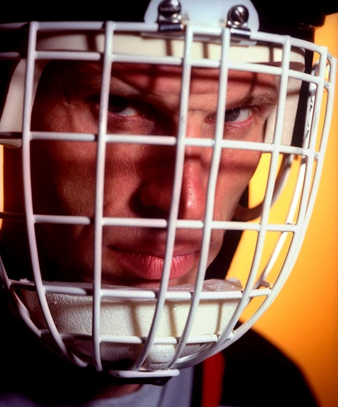 Dominik Hasek was selected in the 10th round of the 1983 NHL Draft by the Chicago Blackhawks, who had little hope that he would be allowed to leave Czechoslovakia, which was still under Communist rule. A star in the Czech League's First Division, Hasek was genuinely content to stay in Europe and represent his country at the 1984 and 1987 Canada Cup tournaments.