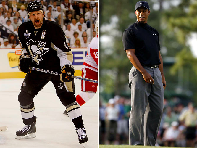 "During the 2008 Stanley Cup Final, Milbury came to the NHL's defense when Tiger Woods suggested that no one watches hockey anymore. Milbury calls the golfer ""Tiger Wuss"" and threatens to send Pittsburgh Penguin forward Gary Roberts to give Woods a thrashing for his impudence."