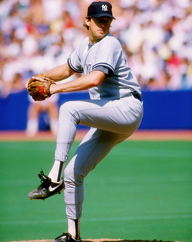 Hawkins threw eight no-hit innings against the White Sox -- and managed to lose 4-0, thanks to a disastrous four-run, three-error, two-walk eighth inning. The biggest blow came when rookie left-fielder Jim Leyritz dropped a two-out, bases-loaded fly ball that would have kept the game scoreless.