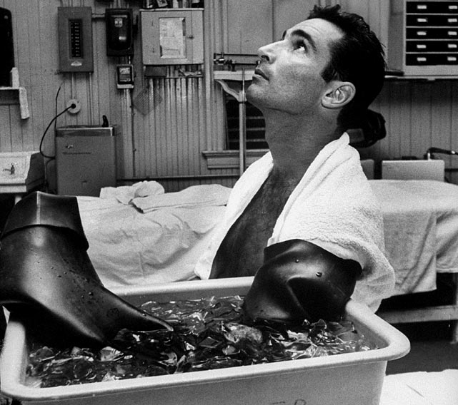 He pitched 658.2 innings during the 1965 and 1966 seasons, winning back to back Cy young awards with a combined 53-17 record. He did this while dealing with traumatic arthritis in his pitching elbow. Koufax retired after the '66 season after a five-year stretch that included a 111-34 record, three Cy Young awards and four no-hitters (one a perfect game).