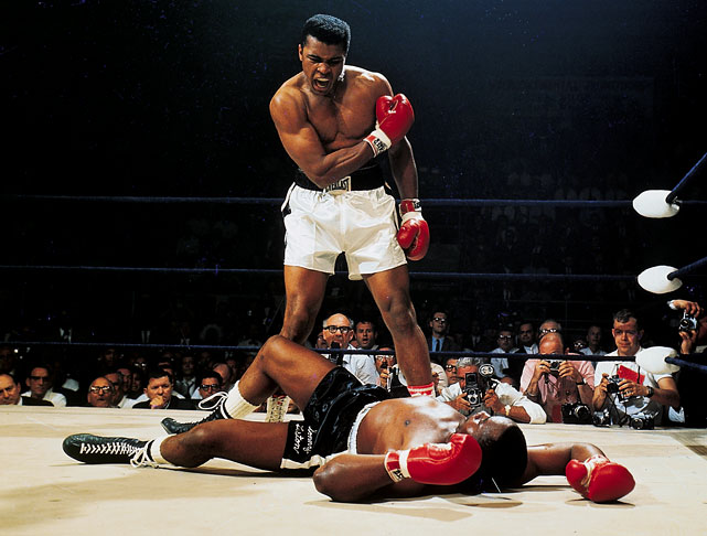 "Before the fight, Ali told reporters he had a dream that he knocked out Sonny in the first round:   ""I'm not the greatest; I'm the double greatest.  Not only do I knock 'em out, I pick the round.""    Result:  Less than two minutes into the fight, Ali hit Liston with what became known as the ''phantom punch'' and Liston, who had hardly ever been knocked down, fell and lost the fight."