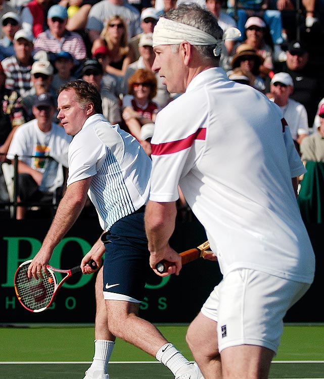 By all accounts Patrick had a great tennis career. He won 16 career titles and served as the Davis Cup captain when the team won the Cup in 2007. Compared to his brother John however, Patrick's accomplishments lose their luster.