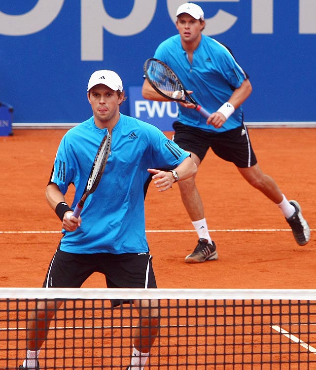 The male equivalent of Serena and Venus, the brothers Bryan depend on one another, neither having won a singles title during their career. As a tandem however, they are lights out. They've won a record 83 tour titles and have won Grand Slam doubles titles at the French Open, U.S. Open, Australian Open and Wimbledon.