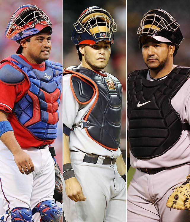Hailing from Puerto Rico, the Molina brothers share the distinction of being the only trio of brothers in major league history to have each won a World Series ring. Bengie and Jose did it together as members of the 2002 Anaheim Angels; Yadier did it with the 2006 and 2011 St. Louis Cardinals. Considered defensive stalwarts, they have a combined eight Gold Gloves between them (six belonging to Yadier).