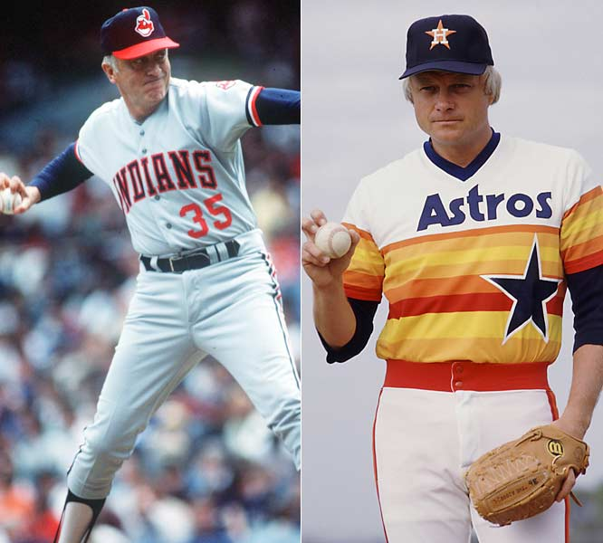 Phil and Joe used their unorthodox knuckleball pitch to combine for 539 victories, the most by any set of brothers in major-league history.