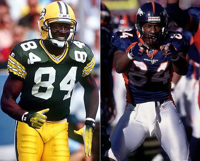 In 1992, Sterling became one of seven players in history to lead the league in receiving yards, receiving touchdowns and receptions in the same season. He made five Pro Bowls with the Packers before a neck injury cut his career short in 1994. Brother Shannon won a pair of Super Bowls with Denver and a third with Baltimore before retiring as the NFL's all-time yardage leader among tight ends.