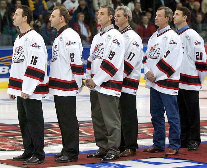 During the '70s and '80s, no less than six Sutter brothers reached the NHL. The Alberta natives played more than 5,000 games and brought home a combined six Stanley Cups.