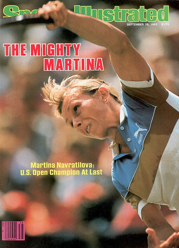 With a 6-1, 6-3 victory over Chris Evert-Lloyd in the U.S. Open final, Navratilova completed a Career Grand Slam in her most dominant single season. The Czech native would finish the calendar year with a mind-boggling 86-1 record in singles matches.