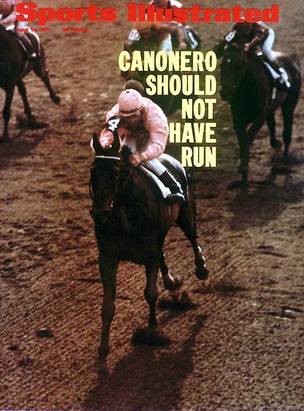The ultimate dark horse, the Venezuelan stallion barely qualified for the Kentucky Derby but came from 18th place in the back stretch to become the Derby's only foreign-based winner. He jumped out in front in the Belmont but faded in the longer distance, finishing fourth.