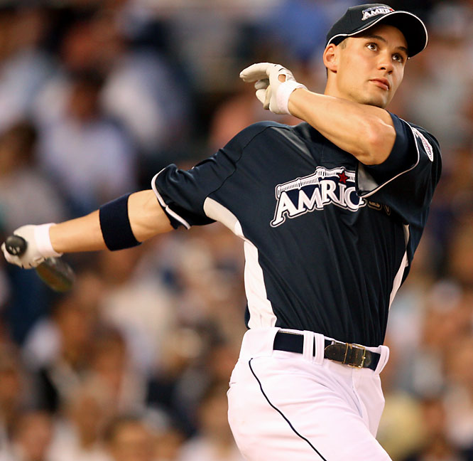 After entering the Derby with an American League-leading 23 homers, Grady Sizemore finished with six Monday night, including a 448-foot shot into the upper deck in right field.
