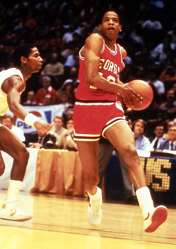 Fleming was a four-year starter at point guard for the Bulldogs. When he graduated, Fleming had set six career school records, including marks for total points and assists. The 6-foot-5 guard was an All-America his senior year at Georgia and also played for the gold medal-winning U.S. Olympic basketball team that year. Fleming played 12 seasons in the NBA, mostly for the Indiana Pacers.