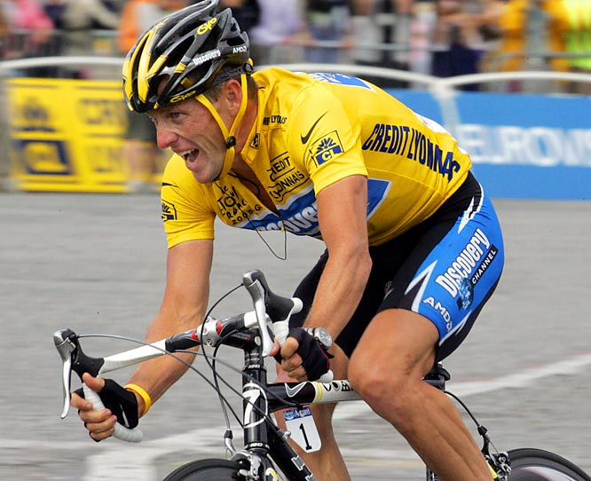 After winning a record seven Tour de France titles, Armstrong called it a career in July, 2005. But the Texas native returned to pro cycling in 2009 and finished third in France.