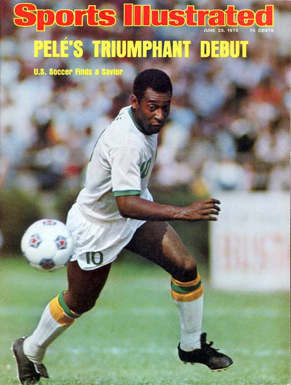 Arguably the greatest soccer player of all time, Pele wanted to make his sport popular in America when he came out of retirement to play for the New York Cosmos for two seasons. His reported $7 million contract made him the highest-paid player in the North American Soccer League.