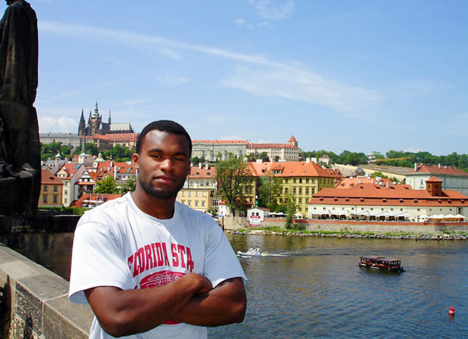 Here, Rolle overlooks Prague.