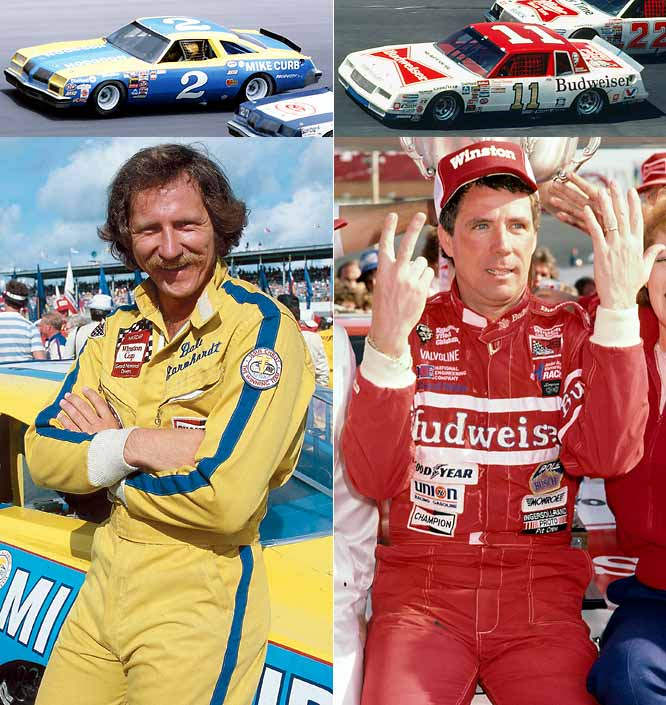Winning six Winston Cup titles in eight years from 1980-1987, Earnhardt and Waltrip shared a bitter rivalry on the track as NASCAR's best drivers. Off the track, Waltrip joined Earnhardt's racing team late in his career and was one of the biggest advocates for greater safety restrictions after Earnhardt's death.