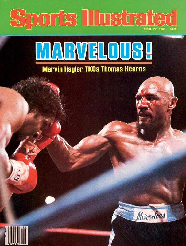 "Coined ""The War"" by promoter Bob Arum, the April 1985 Hearns-Hagler fight is considered one of the most brutal slugfests in boxing history. Hagler knocked Hearns out in three rounds in what was named the fight of the year."