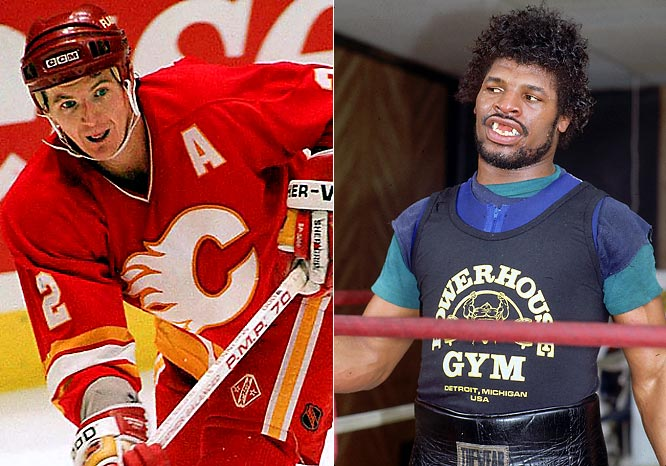 Al MacInnis (1963)<br>Leon Spinks (1953)