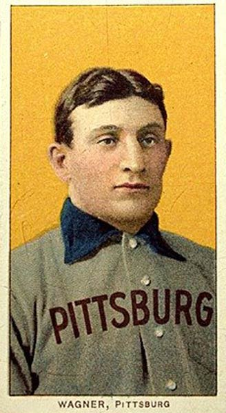 The American Tobacco Company's near-mint condition 1909 Honus Wagner card goes for $1.1 million in an eBay online auction. The high bidder will pay $1.265 million, including a 15 percent buyer's premium, for the 91-year old card of the Hall of Fame Pirate shortstop.