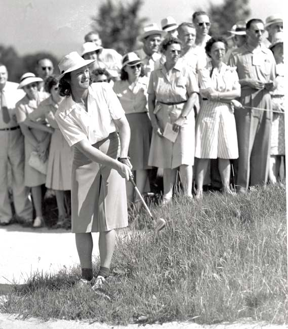 Babe Didrikson-Zaharias wins the ninth U.S. Women's Open Championship.