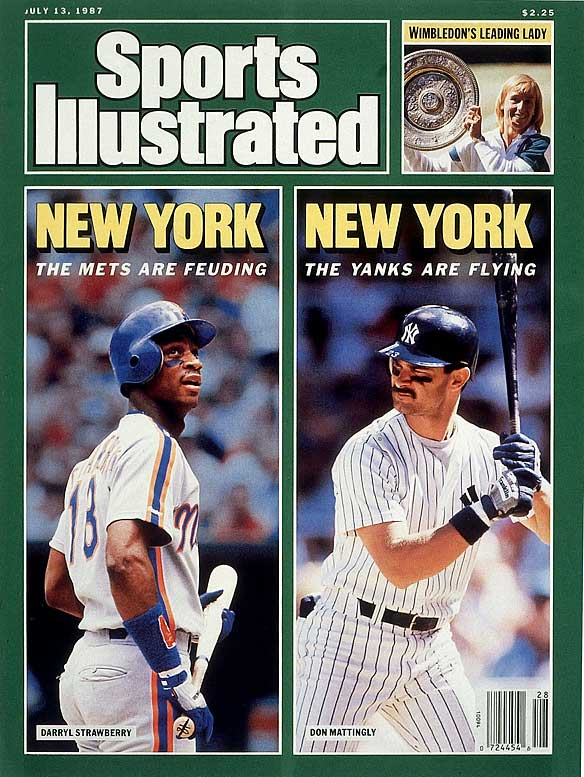New York Met Darryl Strawberry threatens teammates Wally Backman and Lee Mazzilli for criticizing his play.