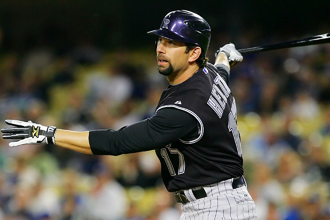 National League clubs looking for power without a DH make up eight of the 10 highest-paid first basemen. Nine of those make more than $10 million, with Colorado's Todd Helton leading the way at $16.6 million.